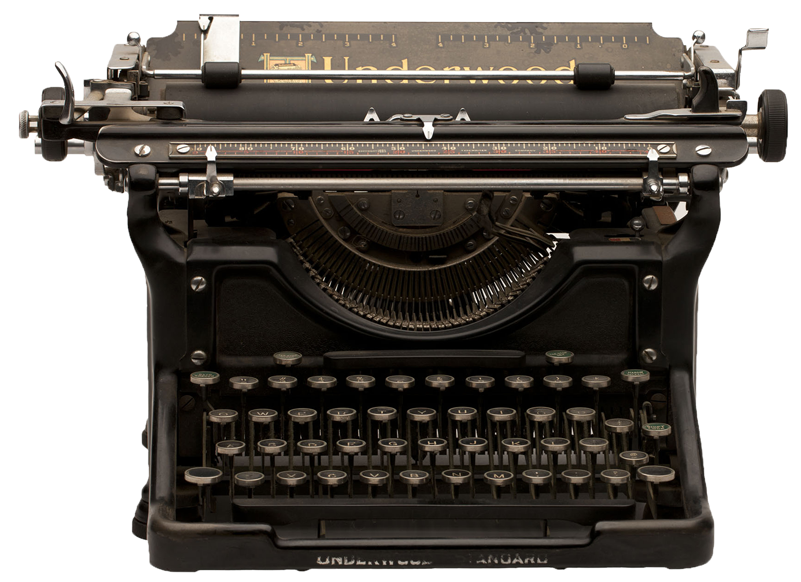 Photo of Ken Kitasako's typewriter.